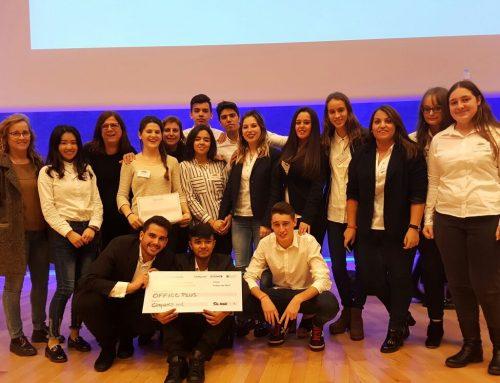 Alumnes de 2GA obtenen el segon premi en la V trobada d'empreses simulades d'Empresaula