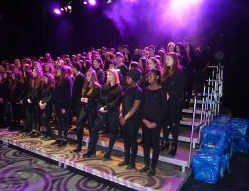 L'institut Bosc de la Coma participa a la cantata UAP 17