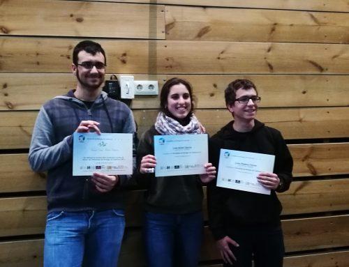 Tres alumnes de batxillerat participen a la 7a Olimpíada de Biologia