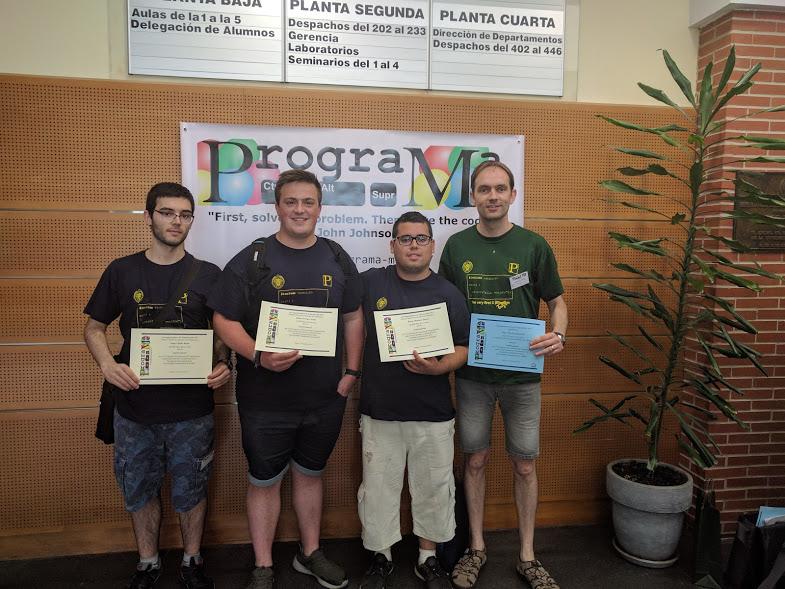 Quarts classificats concurs ProgramaMe