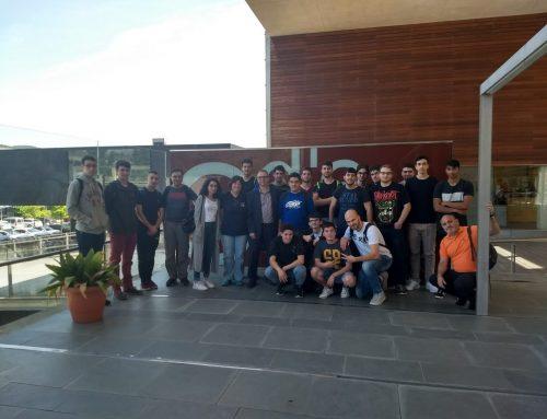 1ASIX visita Hipra i Parc Científic i Tecnològic