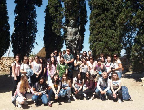 Alumnes de Llatí i Grec a la Tarragona Romana