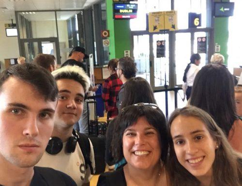 Erasmus+ a Dublin i a Chartres