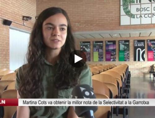 Martina Cots a Olot TV