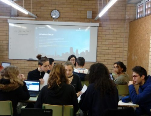 Alumnes francesos a Literatura Castellana