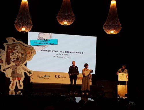 Alba Simon: premi al seu treball de recerca