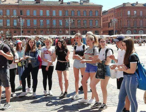Séjour a Toulouse des élèves de 3r Eso français