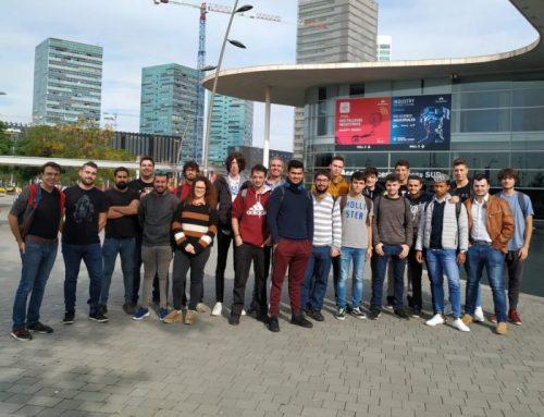 Els alumnes de 2n de DAM i ASIX visiten el IOT Solutions World Congress