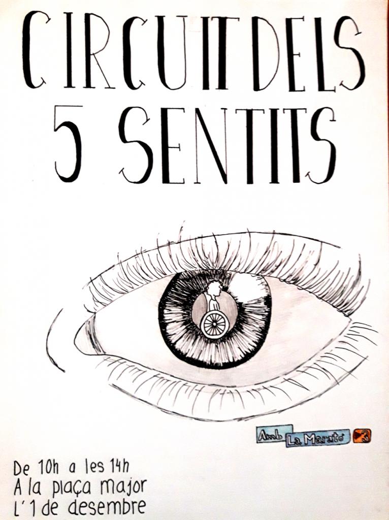 Cartell Circuits dels 5 sentits