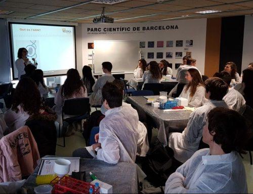 Els alumnes de biologia de 2n de batxillerat visiten el Parc Científic i tecnològic de Barcelona