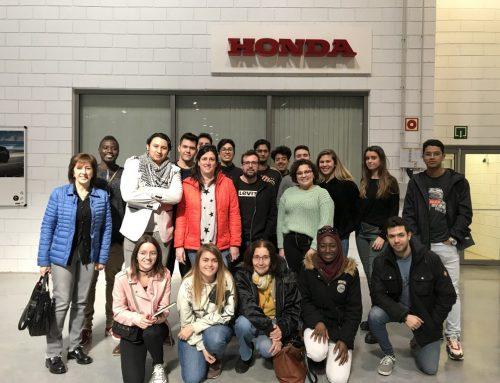 Els alumnes de Comerç Internacional i de Transport i Logística visiten les empreses Honda Motor Europe Logistics i SEAT