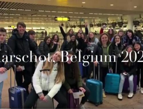Moments dels estudiants de 1r de Batxillerat a Bèlgica