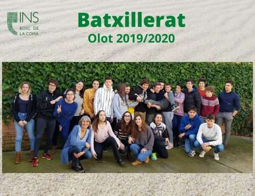 Comiat alumnes d'estudis Postobligatoris