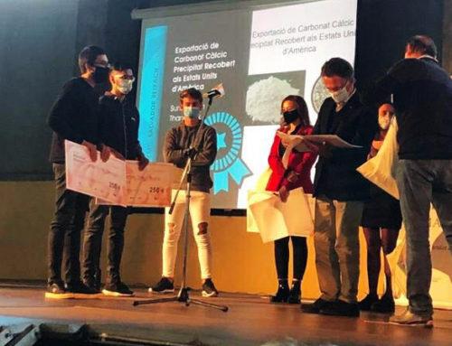 Premi Salvador Reixach dins la modalitat d'Anàlisi i Gestió als alumnes Sunraj Singh Thandi i Joan Ferrés