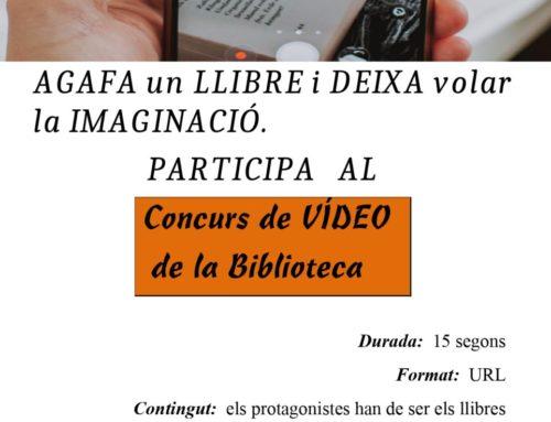 Concurs de vídeo de la Biblioteca